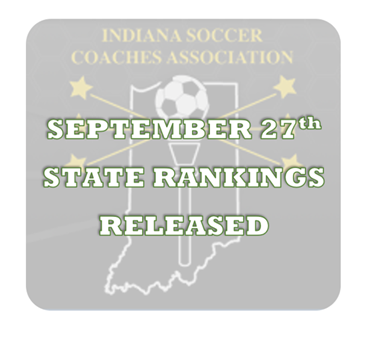 ISCA September 27th State Rankings Released